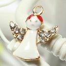 11 Mixed Gold Christmas Gifts Charms Tree Deer Snowflake Pendant