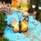 DIY Miniature Multicolor Butterfly Ornaments Potted Plant Garden Decor