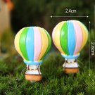 DIY Miniature Hot Air Balloons Ornaments Potted Plant Garden Decor
