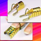 5pcs Reusable UV Acrylic Nail Art Tips Forms Tool