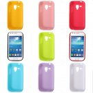 Slim Glossy Soft Back Case For Samsung Galaxy Trend Plus S7580