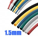 1m 1.5mm 7 Color 2:1 Polyolefin Heat Shrink Tubing Tube Sleeving Wrap