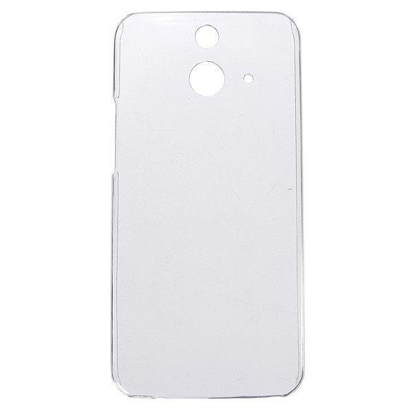 Clear Durable Transparent PC Hard Back Case For HTC One E8