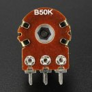 1 Pc 5/20/50/100/500KOhm Linear Log Reverse Rotary Pot Potentiometer Audio Mono