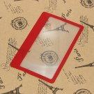 3X Magnification Loupe Lens Mini Credit Card Size