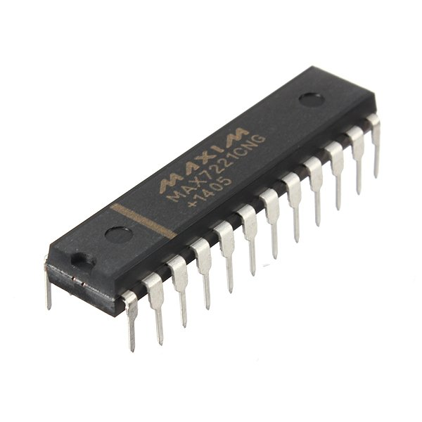 MAX7221CNG MAX7221 8-Digit LED Display Driver IC Chip DIP-24