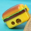 2 Hole Hamburger Pencil sharpener Eraser School Stationery