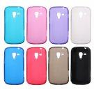 Slim Matte Soft Back Case For Samsung Galaxy Trend Plus S7580
