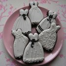 Princess Dress Cookie Cutter Biscuit Jelly Fondant Cake Mold