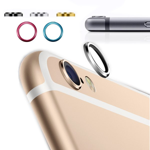 Rear Camera Lens Protector Metal Anti-scratch For iPhone 6 Plus 5.5