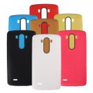 Honeycomb Durable Ultra Slim TPU Soft Back Cover Case For LG G3