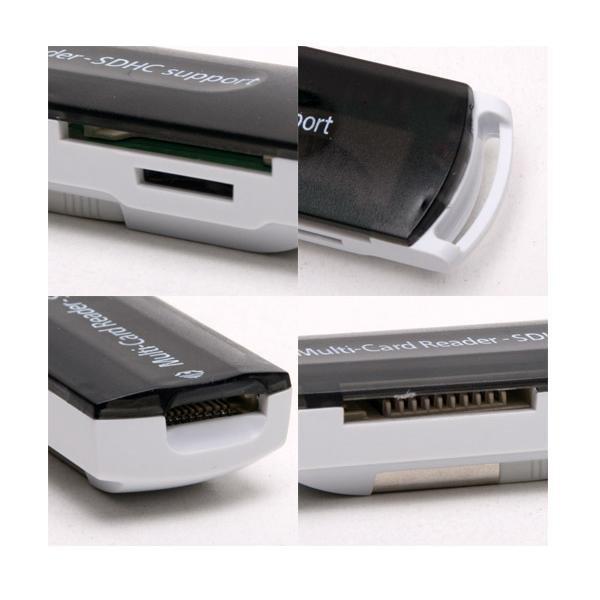 USB 2.0 All in 1 Memory Multi-Card Reader SDHC MS/SD/TF