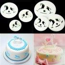 3Pcs Hobbyhorse Fondant Cake Sugarcraft Cookie Cutter Mold