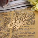Golden Plated Metal Butterfly Bookmark Stationary Supplies