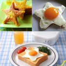 Stainless Steel Star Shape Kitchen Fried Egg Mold Cookie Cutter Tools