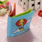6 Colors Soft Baby Child Picture Hand Intelligence Cloth Book