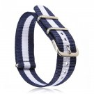 18mm Durable Military Nylon Wrist Watch Strap Band