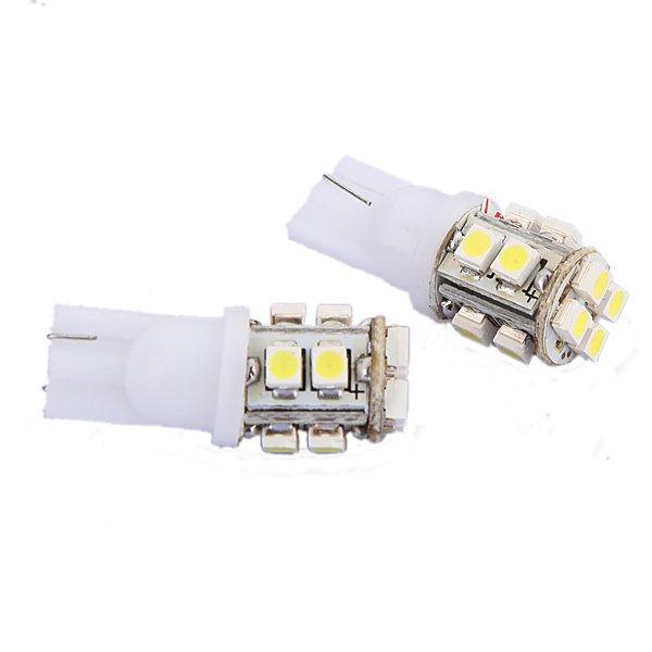 Car Side Wedge Light Bulb Lamp T10 12 LED SMD WHITE