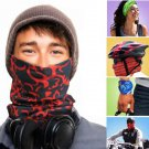 Seamless Multi Function Scarf Windproof  Masks Motorcycle Headscarf
