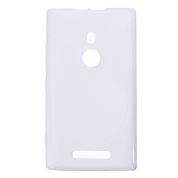 S-line TPU Silicone Soft Protective Case For Nokia Lumia 925