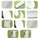 Microfiber Baby Nappy Reusable Double-layer Cloth Diaper