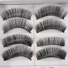 Trendy Handmade Dense Soft Spiky Long Makeup False Eyelashes 198