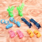 Fashion Mix 5 Pairs Different Shoes Boots For Barbie Doll