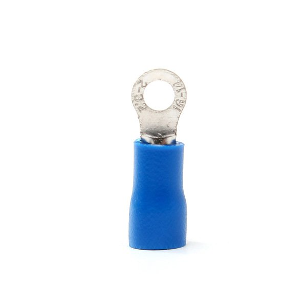 10pcs Blue Rubber PVC Terminals Insulated Ring Connector RC 1.5-2.5mm?