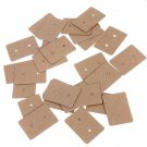 Brown Kraft Paper Earring Card Ear Studs Display Hang Tag