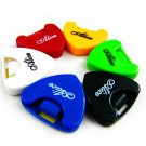 1x Portable Plactic Guitar Pick Plectrum Holder Case Box