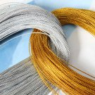 92M Silver/Golden Metallic Thread String Cord DIY Project Accessories