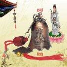 China Tibetan Buddhism Goddess Mercy Buddhist Temple Feng Shui Bell