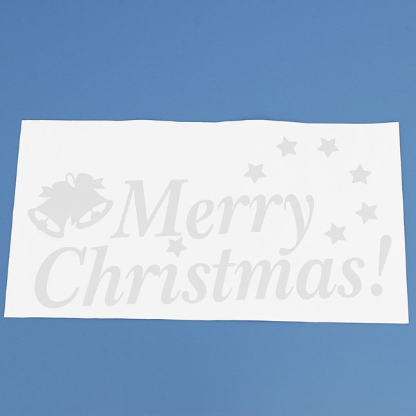 Merry Christmas Wall Window Sticker Christmas Decorations Gift
