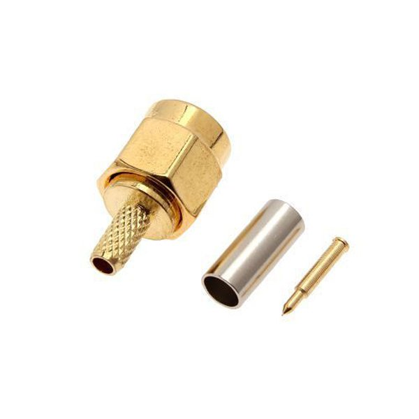 SMA Male 50-1.5 RF connector For RG174 RG316 LMR100 Cable