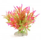 10cm Aquarium Artificial Plastic Plants Small Leaf Ornament