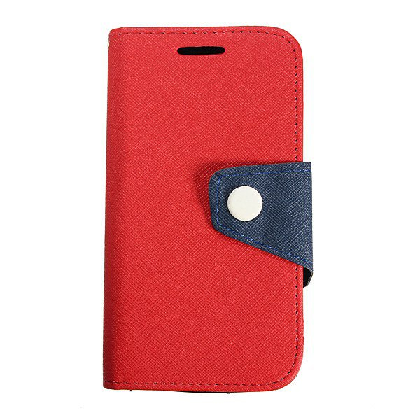Mercury Fancy Leather Card Slot Flip Slim Case Cover For LG L90