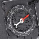 Mini All in 1 Outdoor Baseplate Compass Map MM INCH Measure Ruler
