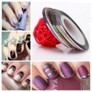 10 Color Striping Tape Line Nail Art Decoration Sticker