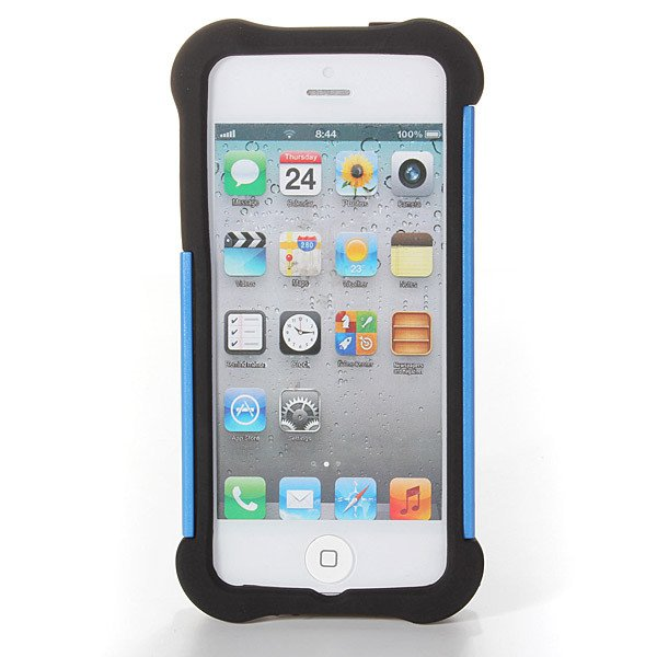 2 in 1 Heavy Duty Shock Proof Rugged Case With Stand For iPhone 5 5S