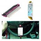 Steering Wheel Cradle Holder Smart Clip Car Mount For Mobile Phone