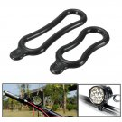 2pcs Rubber Ring Band Holder For Bike LED Headlight Headlamp Torch