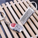 Mouse Keyboard Couple Keyring Valentine's Day Lover Gift