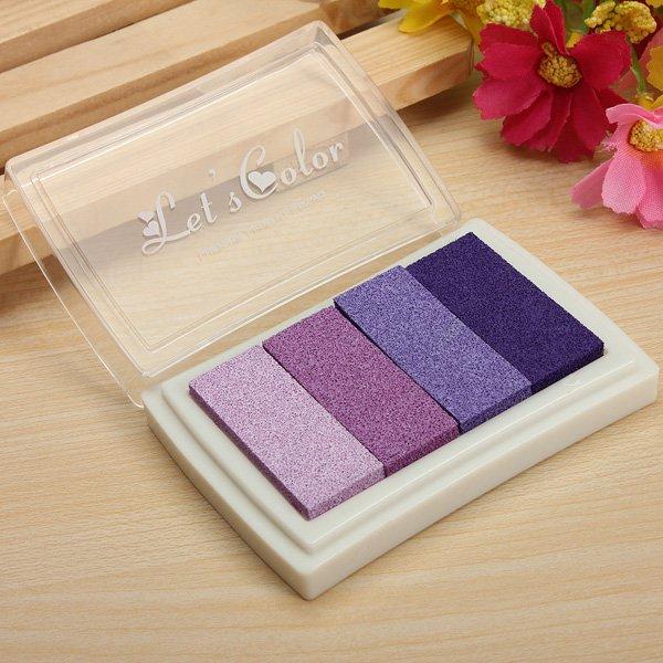 Multicolor Inkpad Stamp Foam Ink Pad DIY Craft Card Inkpad