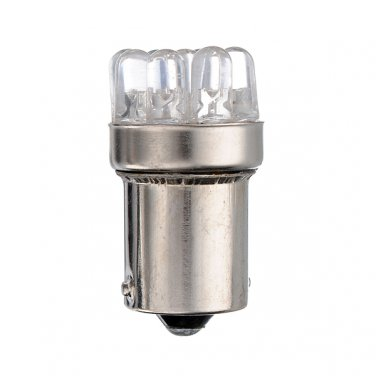 New 9 LED WHITE 1156 G18 BA15S TAIL or STOP Bulb Light DC 12V