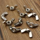 10pcs 304 Stainless Steel M5 Wing Nut Butterfly Nut Metric Thread