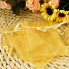 100Pcs Organza Pouch Wedding Favor Jewelry Gift Bag 7X9cm
