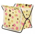 Mini fabric Foldable Lovely Storage Organizer Container Bag Stand