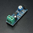 LM386 Audio Amplifier Module 200 Times Input 10K Adjustable Resistance