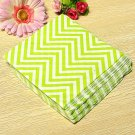 20 PCS Colored Wave Pattern Paper Napkins 2 Layers Party Banquet