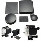 Camera Lens Cap And Battery Door With Side Door Replacement Cover For GoPro Hero 3 Plus